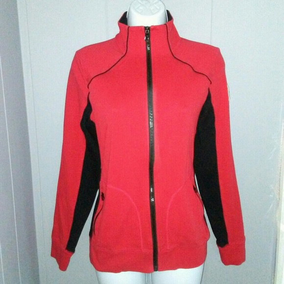 Ralph Lauren Jackets & Blazers - L-RL RALPH LAUREN ACTIVE Red/black Jacket Size M